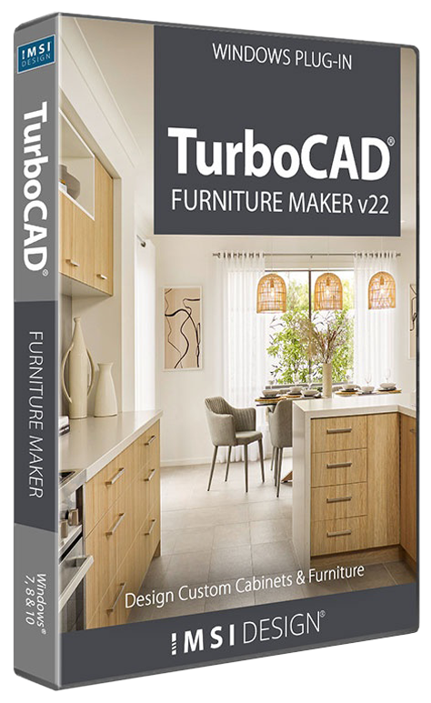 TurboCAD Furniture Maker v22