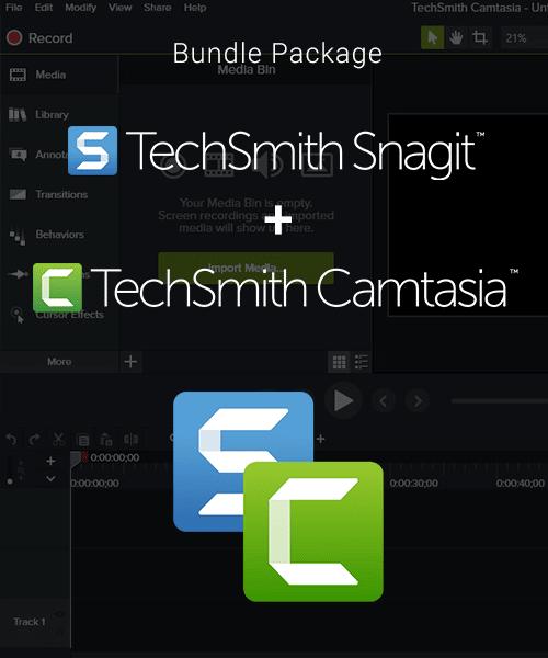 Camtasia + Snagit 2021 - Bundle Package