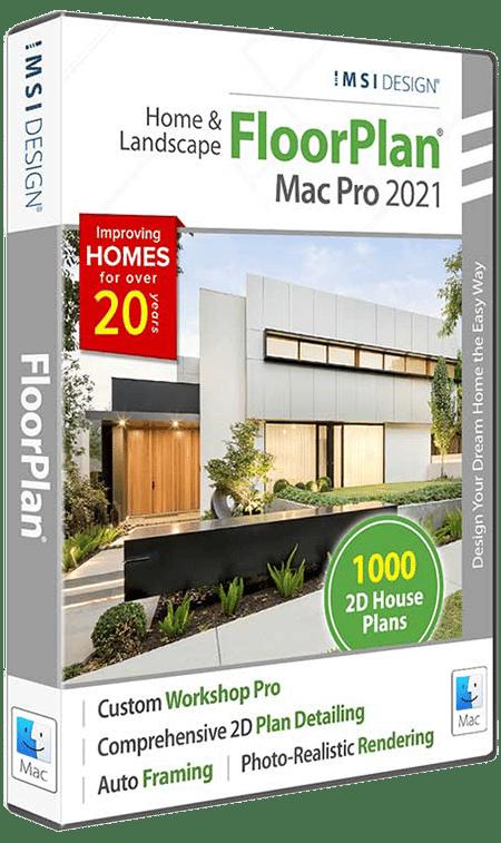 FloorPlan Home & Landscape Pro 2021