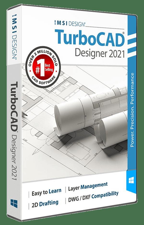 TurboCAD Designer 2021