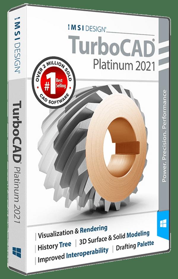 TurboCAD Platimun 2021