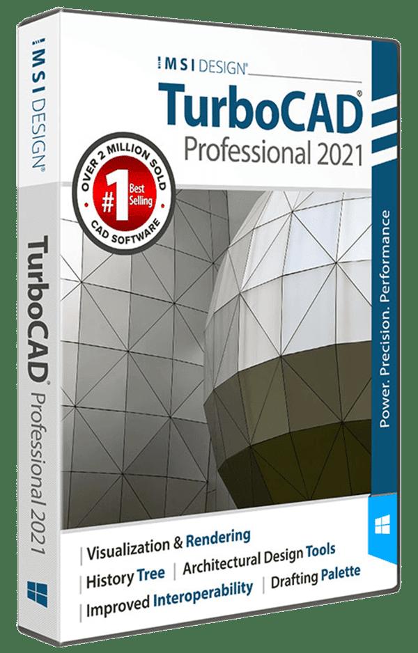 TurboCAD Professional 2021