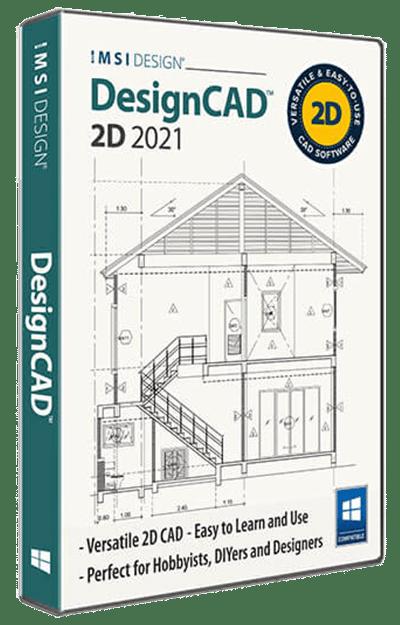 DesignCAD 2021 2D
