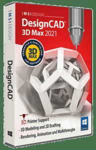 DesignCAD 2021 3D Max
